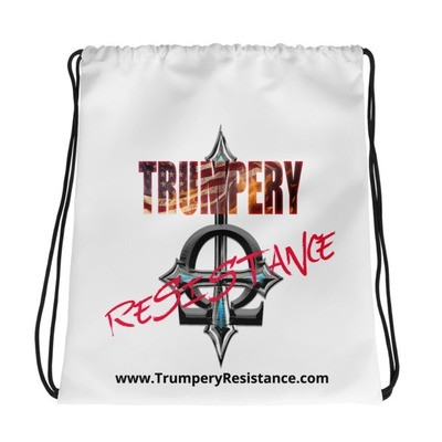 Trumpery Resistance Drawstring bag