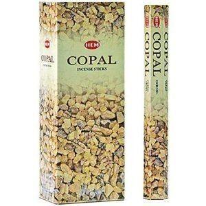 Copal Incense Sticks - 6 Packs of 20