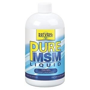 Natural Balance Pure MSM Liquid 700MG