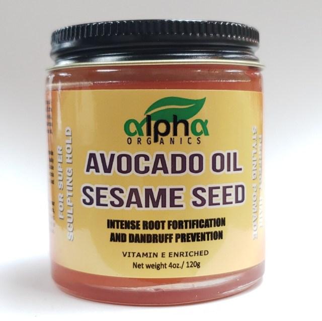 Alpha Organics-Avocado Oil With Sesame Seed 4oz