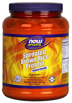 Sprouted Brown Rice Protein Natural Vanilla