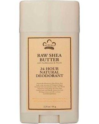 raw shea butter deodorant nubian 2.25oz