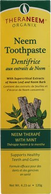 Organix South Theraneem® Naturals Neem Toothpaste Mint  4.23 oz