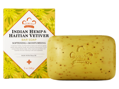 Nubian Heritage Indian Hemp Bar Soap 5oz