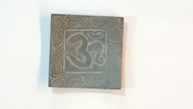 Square Indian Design Incense Holder