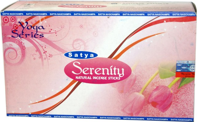 Serenity Satya Incense Box - 15 Grams (180 Sticks)