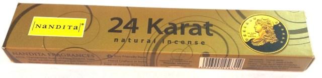 Nandita 24 Karat Incense Pack - 15 Sticks