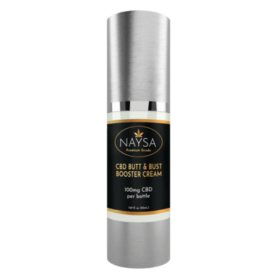 NAYSA Butt and Bust booster cream with CBD