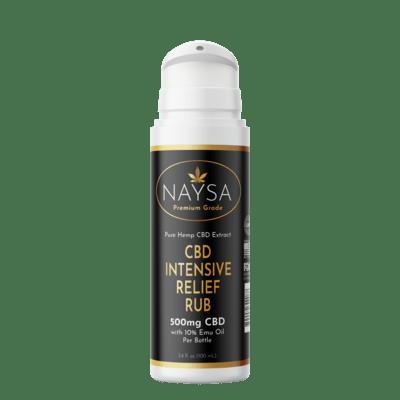 NAYSA Intensive Pain Rub with EMU Oil - 500 mg CBD