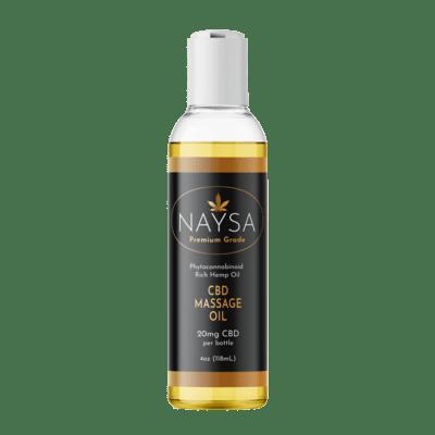 NAYSA Massage Oil with 20 mg CBD