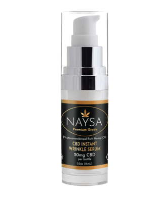 NAYSA Instant Wrinkle Serum with CBD