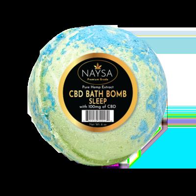 NAYSA CBD 100 mg Sleep Bath Bomb