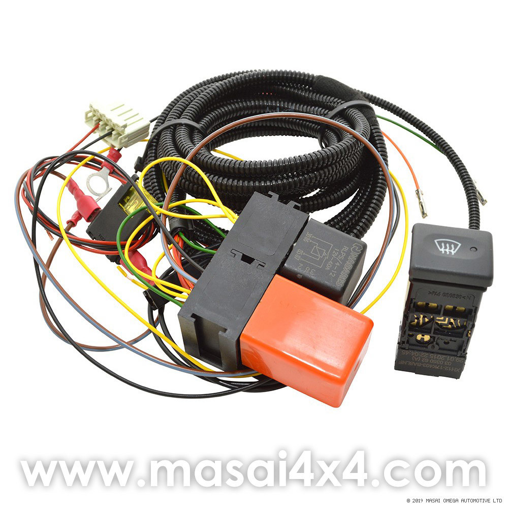 medium resolution of land rover heated windshield wiring