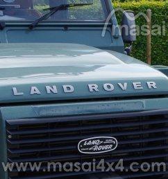 land rover bonnet raised 3d lettering decal silver  [ 1000 x 1000 Pixel ]