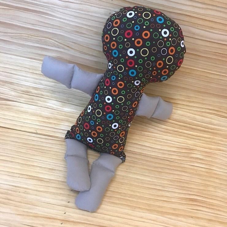 Mini Minimalist Doll #0008
