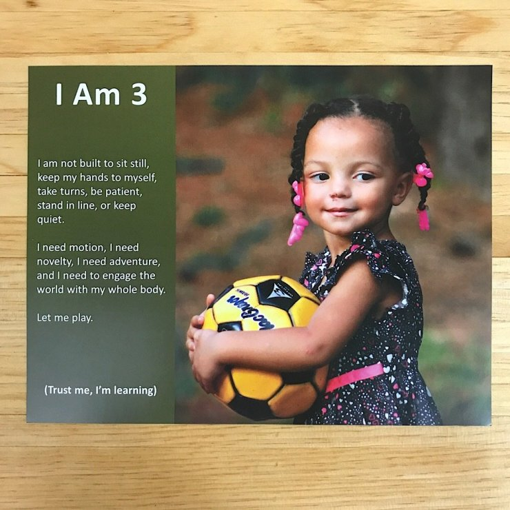 I Am Three 2.0 Poster