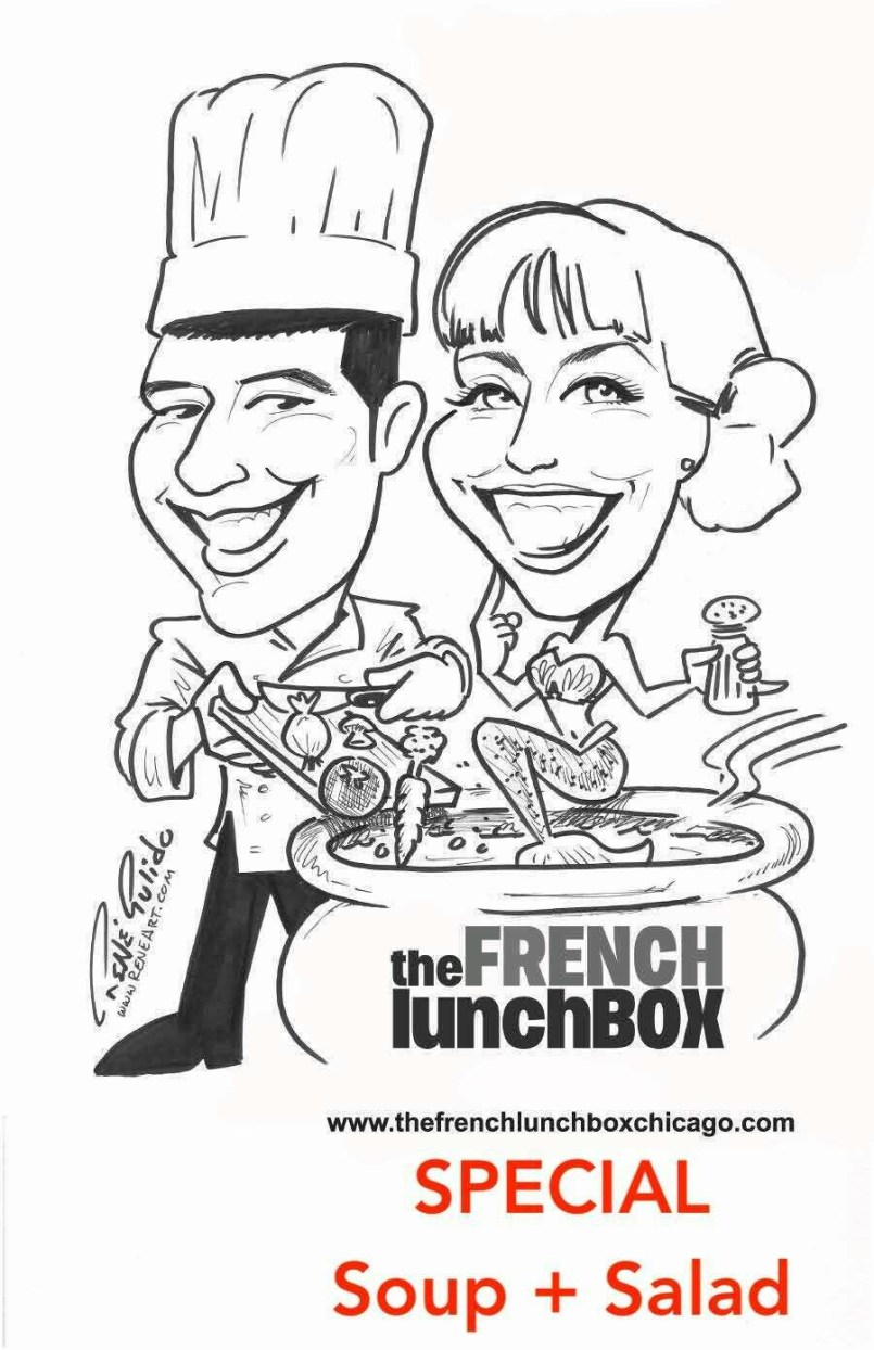 Lunchbox Special - Soup + Salad