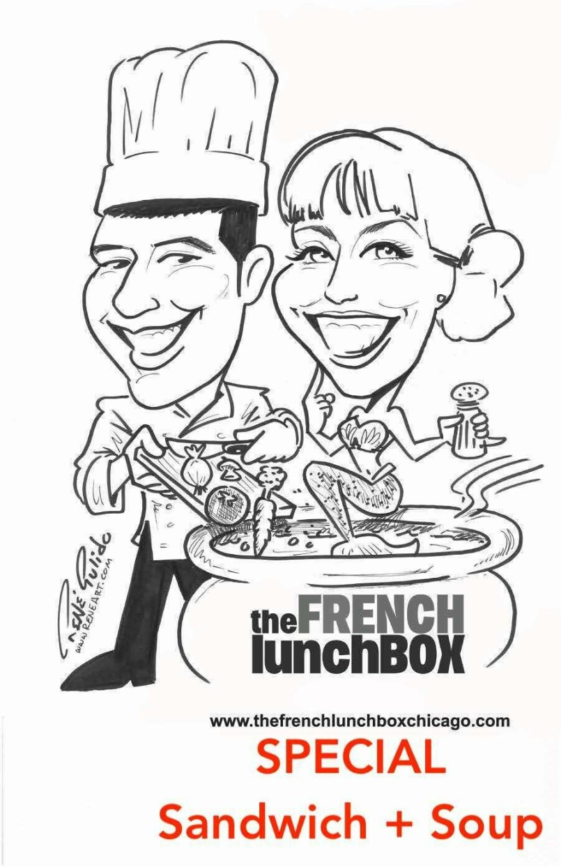 Lunchbox Special - Croque + Soup