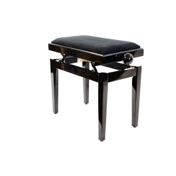 Legato - Adjustable Piano Stool - Polished Ebony