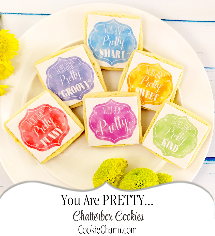You Are Pretty Chatterbox Cookie Gift Box CC-PL3M-AO-1606