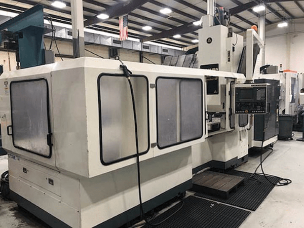 "1 – USED KITAMURA #8 CNC BRIDGEMILL WITH EXTENDED 98.4"" X-TRAVEL"