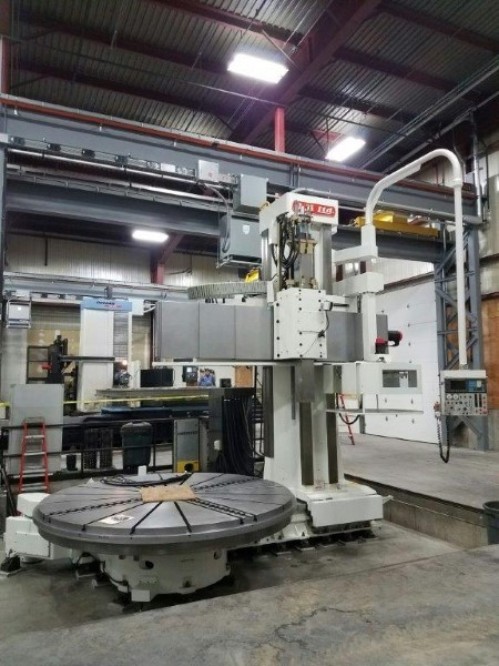 "1 – USED 157"" OM-TMS2 30-40 VERTICAL BORING MILL C-5772"