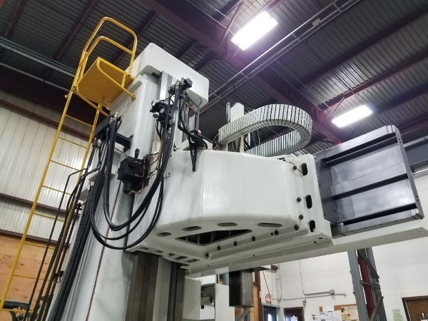 "1 – USED 157"" OM-TMS2 30-40 VERTICAL BORING MILL"