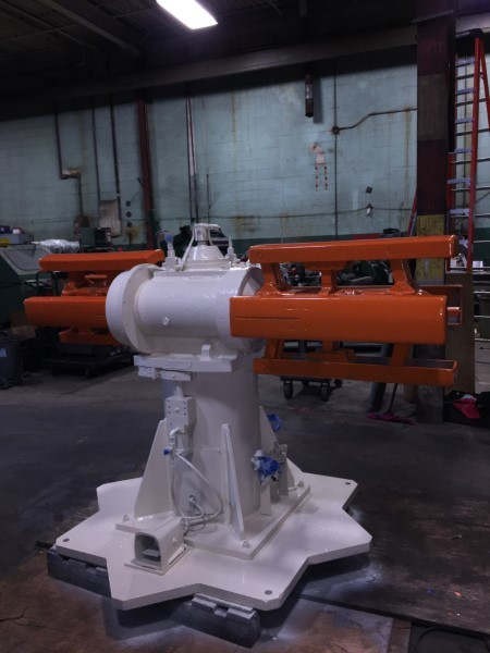1 – USED 6,000 LB. LITTELL DOUBLE END NON POWERED STOCK REEL