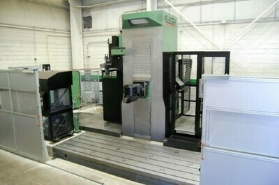 """1 – USED 55"""" X 157"""" OMV PARPAS ELECTRA 5-AXIS HIGH DYNAMIC TRAVELING COLUMN CNC MILLING MACHINE"""