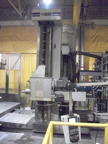 1 - USED MODEL RAPID 3R/25T WOTAN CNC HORIZONTAL BORING MILL C-3598