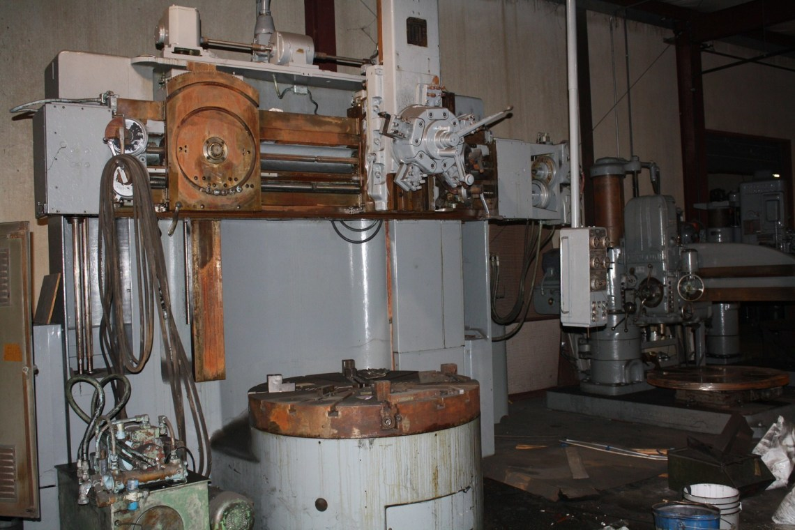 "1 - USED 56"" BULLARD ""CUTMASTER"" VERTICAL BORING MILL WITH TRACER C-3730"