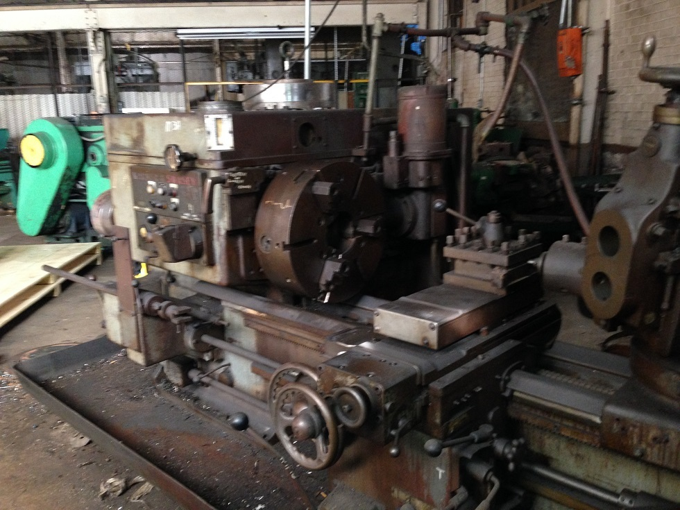 1 – USED 3A WARNER & SWASEY SADDLE TYPE TURRET LATHE C-4075