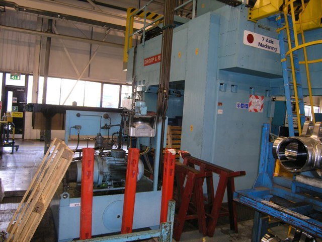 1 – USED DROOP & REIN CNC BRIDGE TYPE VMC