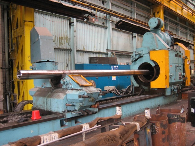 "1 – USED 72"" X 528"" CRAWFORD SWIFT HOLLOW SPINDLE CNC LATHE C-3941"