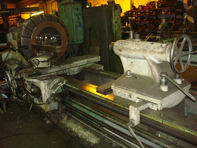 "1 - USED 39/44"" X 16' WMW HEAVY DUTY ENGINE LATHE C-3258"