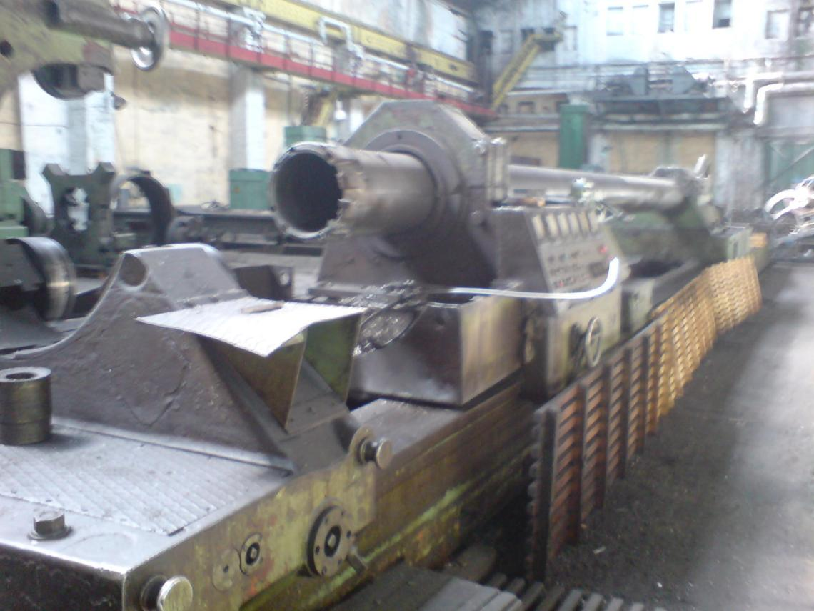 "1 – REBUILT 100"" X 640"" KRAMATORSK MANUAL SUPER HEAVY DUTY LATHE"