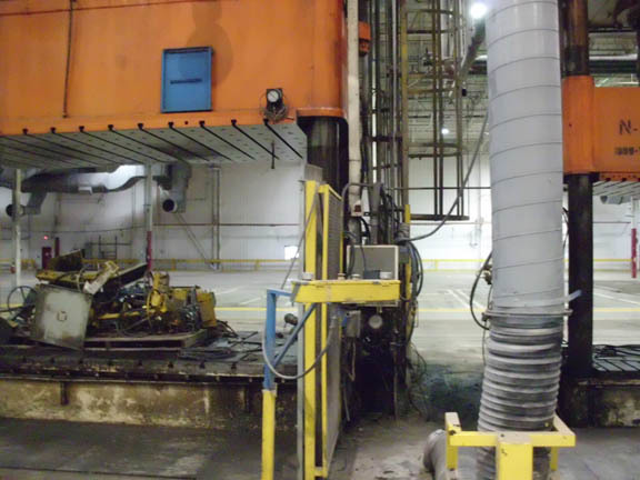 1 - USED 1620 TON ERIE HYDRAULIC PRESS