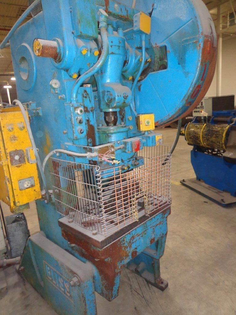 1-USED 45 TON BLISS FLYWHEEL POWER PRESS