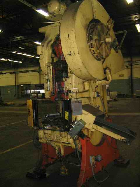 1 – USED 75 TON BLISS FLYWHEEL TYPE OBI PRESS 14304