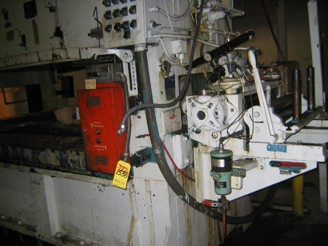 1 – USED 200 TON FEDERAL STRAIGHT SIDE D.C. TWIN DRIVE DOUBLE BACK GEARED PUNCH PRESS