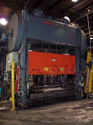1 - REBUILT 500 TON NIAGARA SSSC POWER PRESS C-3491