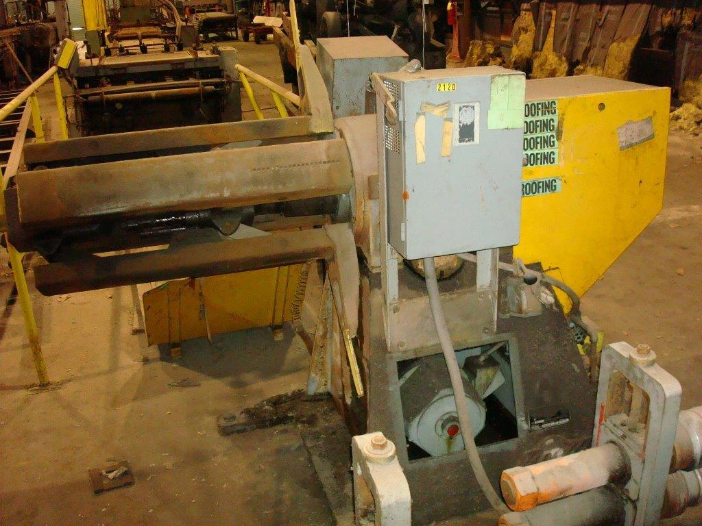 1 - USED 10-STAND DAHLSTROM ROLL FORMING LINE, MODEL 450-10