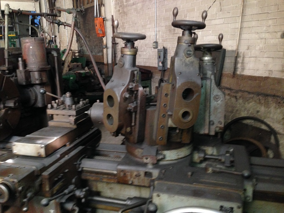 1 – USED 3A WARNER & SWASEY SADDLE TYPE TURRET LATHE