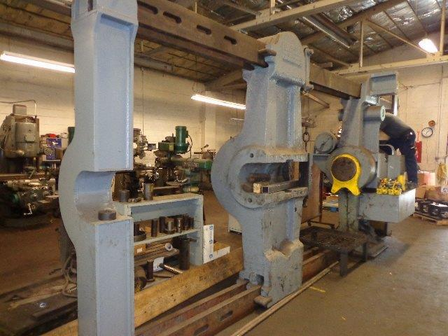 1 – USED 600 TON NILES NON-INCLINED HYDRAULIC WHEEL PRESS