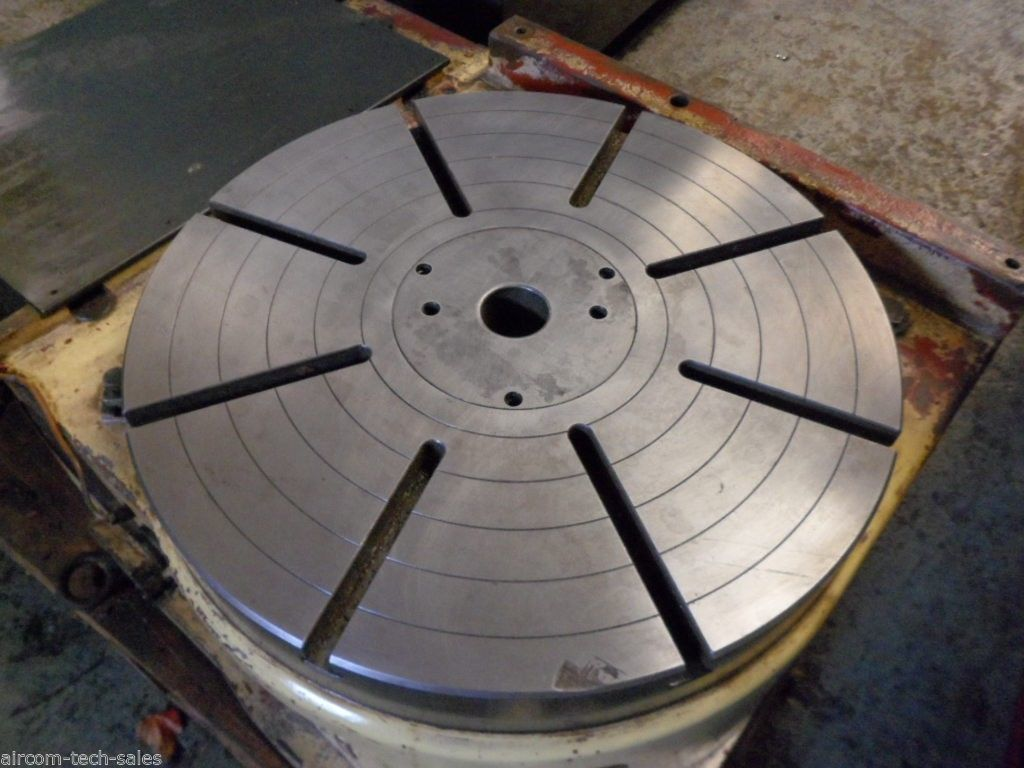"""1 – USED 20"""" NIKKEN CNC ROTARY TABLE"""
