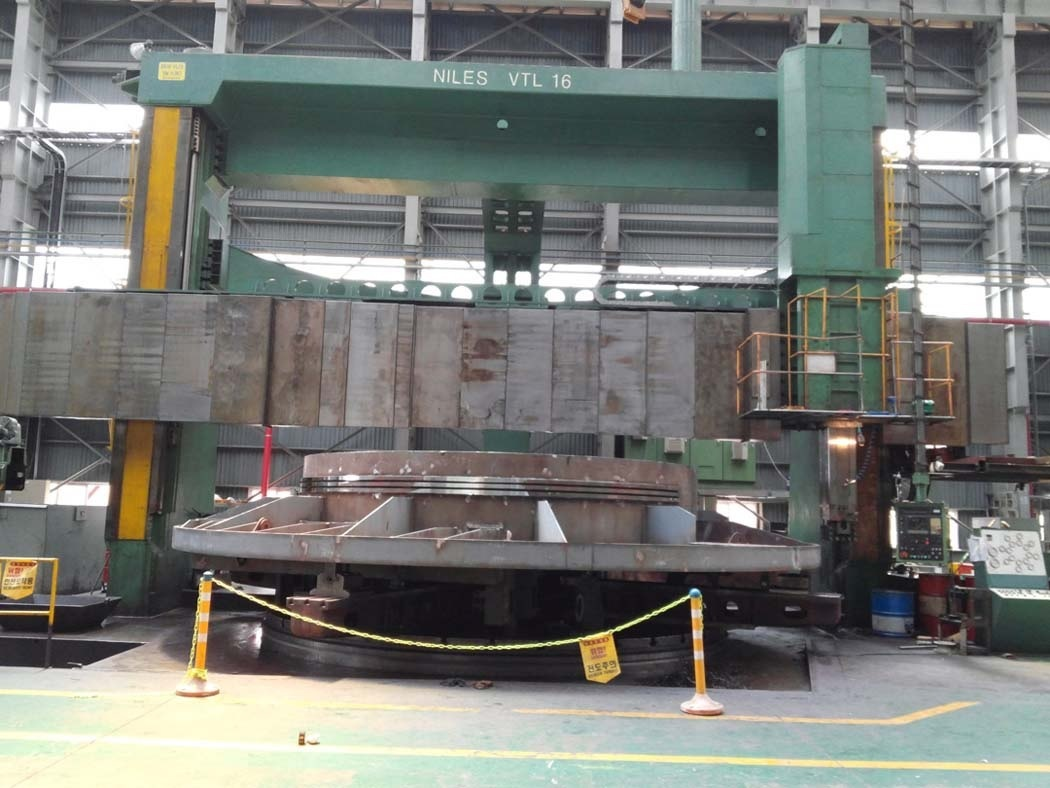 1 – USED 34' KOLOMA CNC VERTICAL BORING MILL