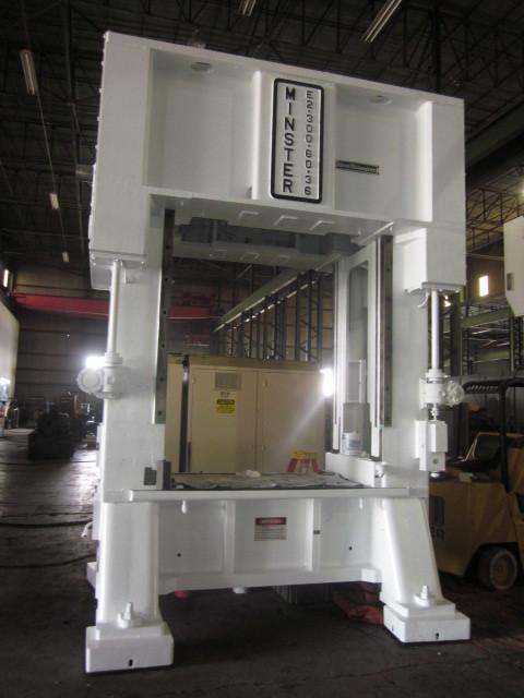 1 - USED 300 TON MINSTER E2-300-60-36 HEVI-STAMPER SSDC PRESS C-4313