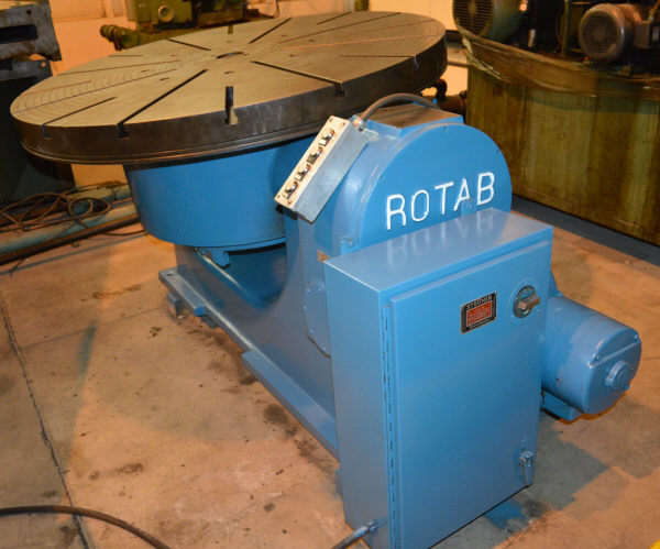 "1 - USED 60"" ROTAB T-SLOTTED TILTING POWER ROTARY TABLE C-4324"