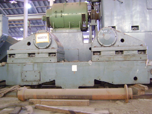 "1 - USED 130"" X 66' WAGNER HEAVY DUTY MANUAL ENGINE LATHE"