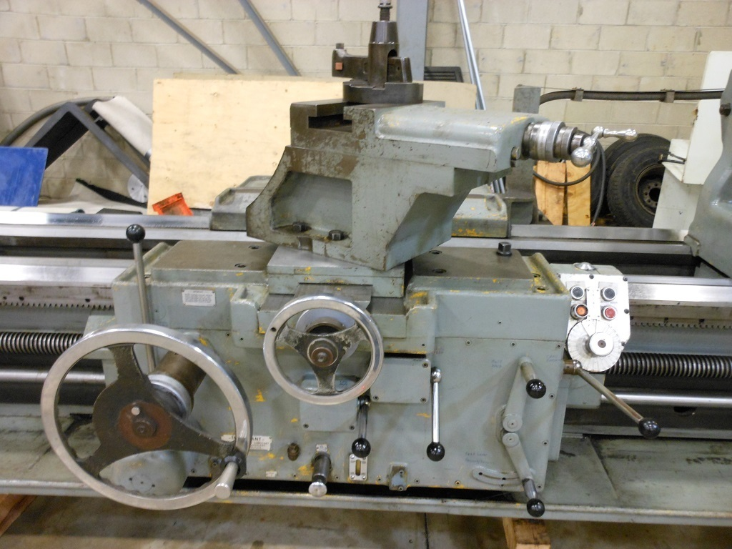 "1 - USED 46"" X 168"" AMERICAN PACEMAKER STYLE H6 HEAVY DUTY ENGINE LATHE"